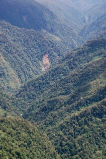The bottom of the Dao Valley which the missionaries will be hiking up with their wives and families in order to teach in the village.