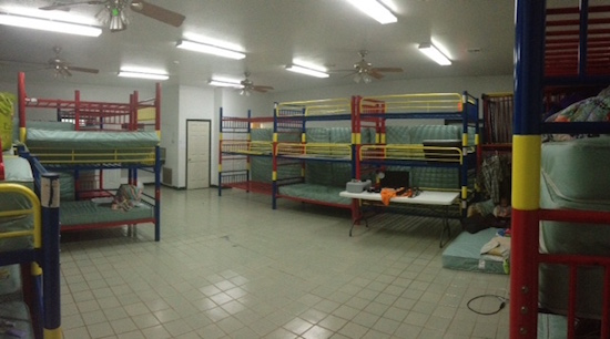 Our humble abode. We are staying at a Christian camp. Pretty nice place!